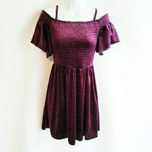 Aeropostale Velvet Dress NEW